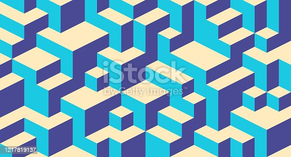 Block Abstract Building Background