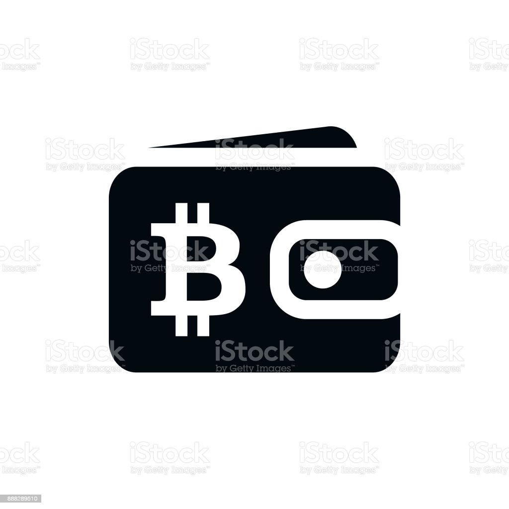 Blockchain Bitcoin Digital Cryptocurrency Wallet Flat Icon