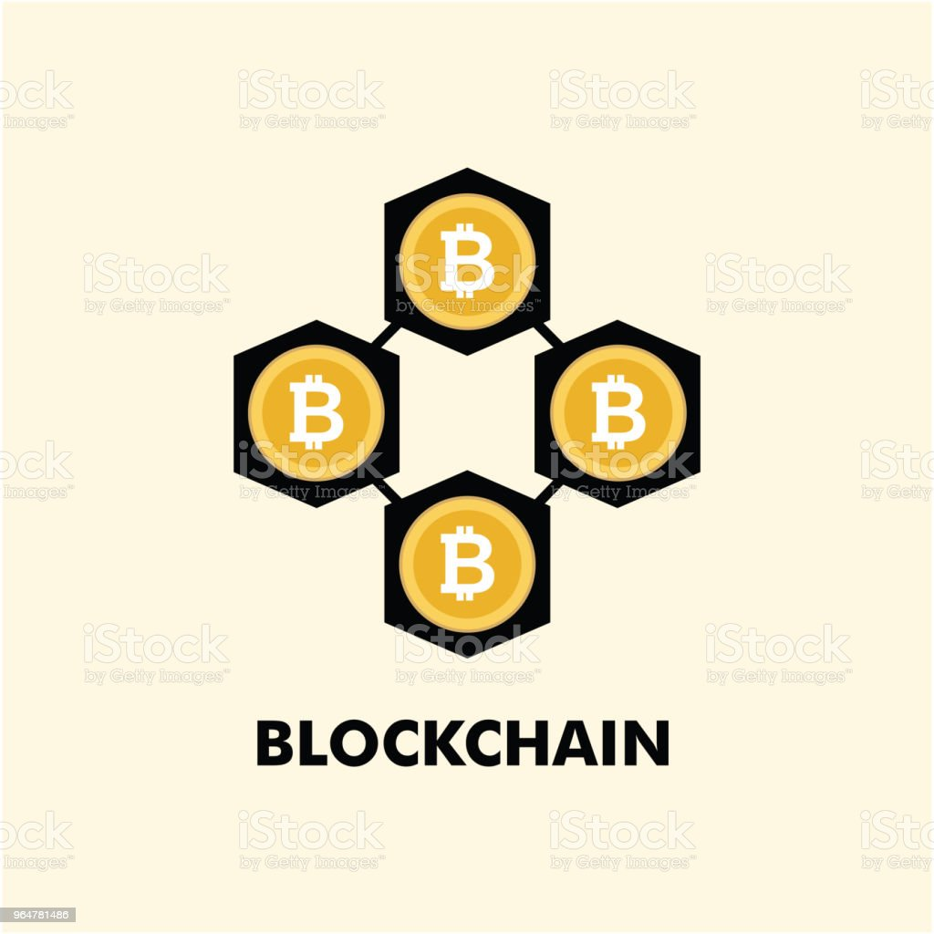 Blockchain Logo Vector Template Design royalty-free blockchain logo vector template design stock vector art & more images of advice