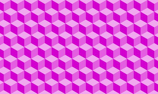 Blockchain Technology Background vector art illustration