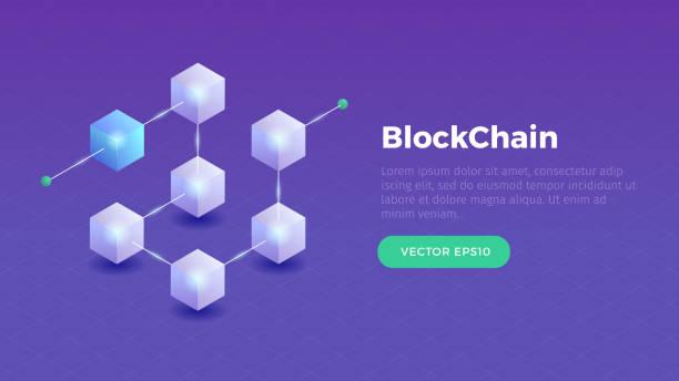 stockillustraties, clipart, cartoons en iconen met blockchain - blockchain