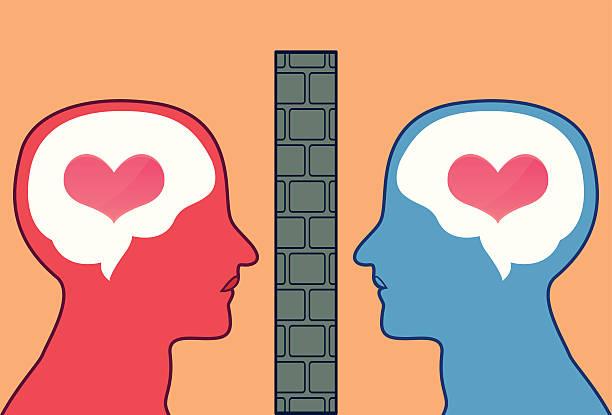 blocked love - romeo and juliet stock illustrations, clip art, cartoons, & icons