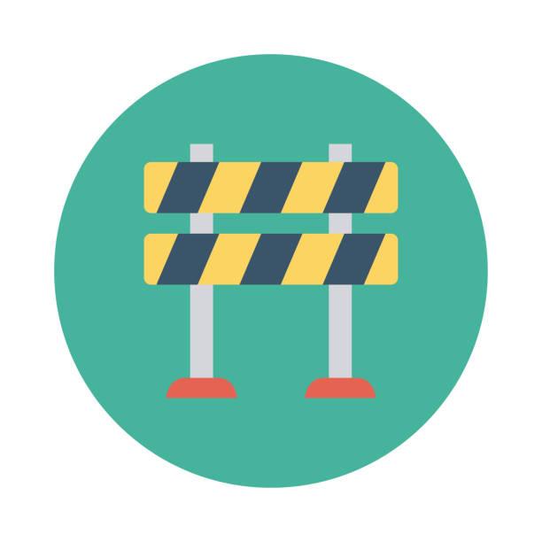 Best Roadblocks Illustrations, Royalty-Free Vector ...