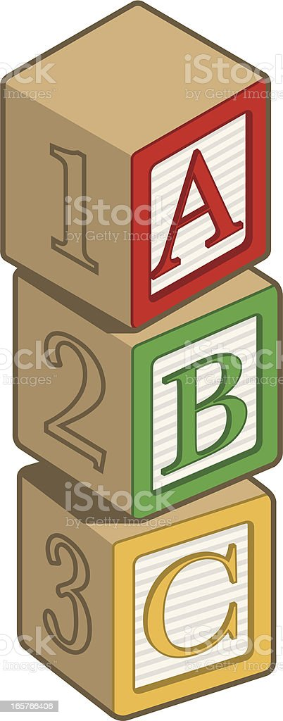 ABC Blocks royalty-free abc blocks stock vector art & more images of alphabet