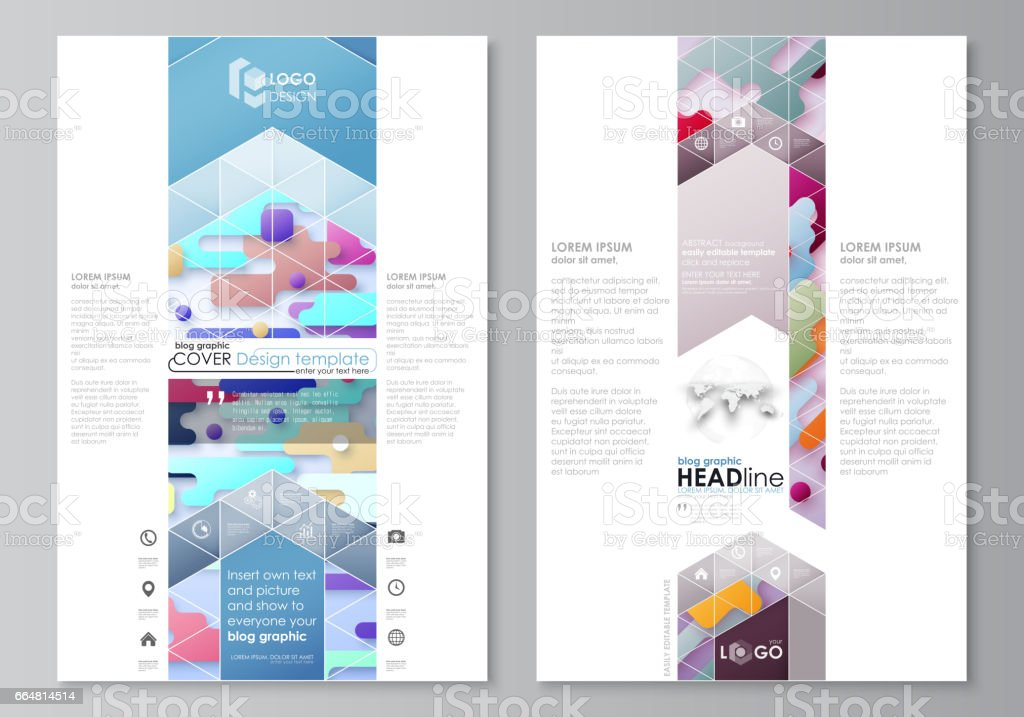 Blog graphic business templates page website design template blog graphic business templates page website design template abstract vector layout bright color friedricerecipe Choice Image