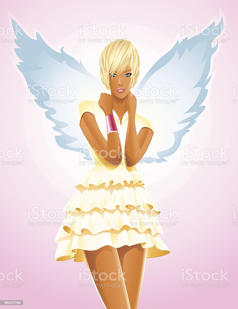 Blonde Angel royalty-free blonde angel stock vector art & more images of adult