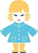istock Blonde Caucasian Doll 165025135