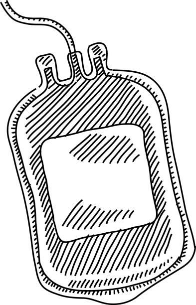 Royalty Free Blood Bag Clip Art, Vector Images