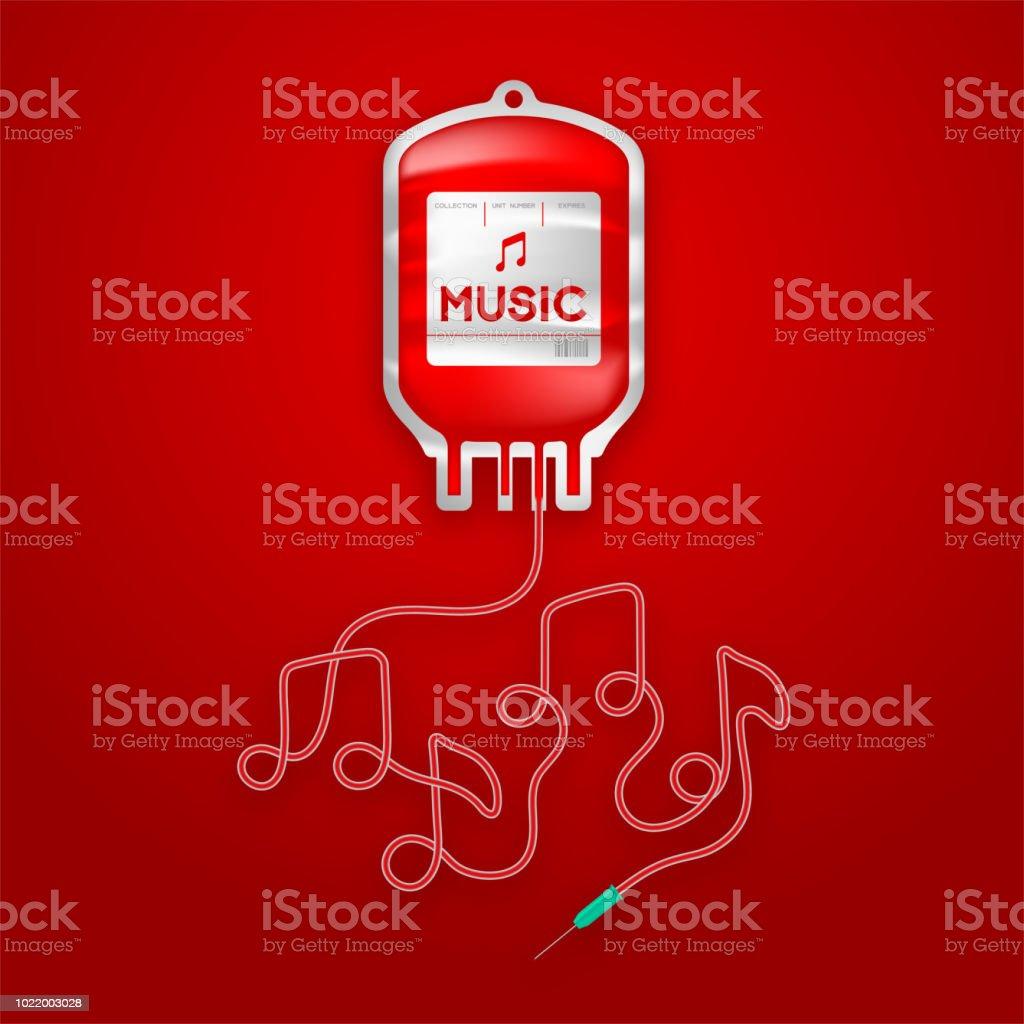 röd melodi