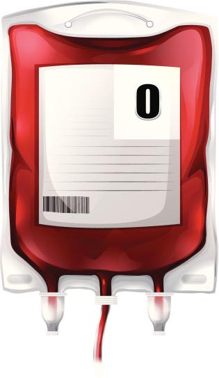 Blood Bag With Type O Blood向量圖形及更多例行公事圖片