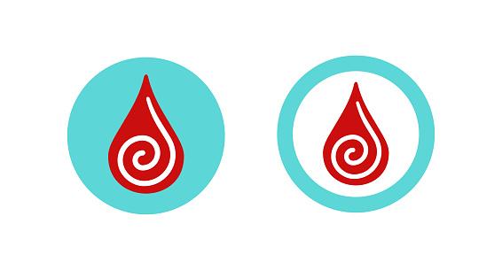 Blood Coagulation Clotting Icon Blood Changes Stock Illustration - Download  Image Now - iStock