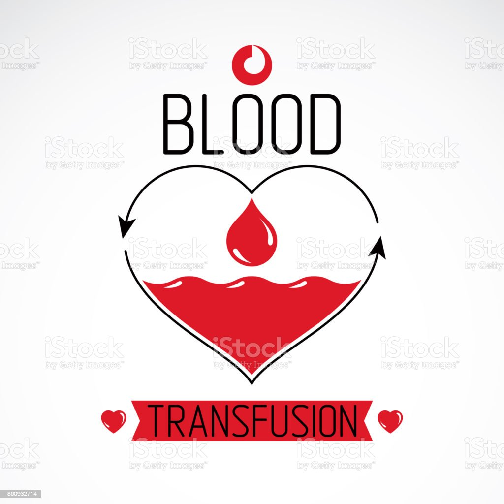 Blood donation and blood transfusion concept vector symbol created blood donation and blood transfusion concept vector symbol created with red heart shape with arrows and buycottarizona