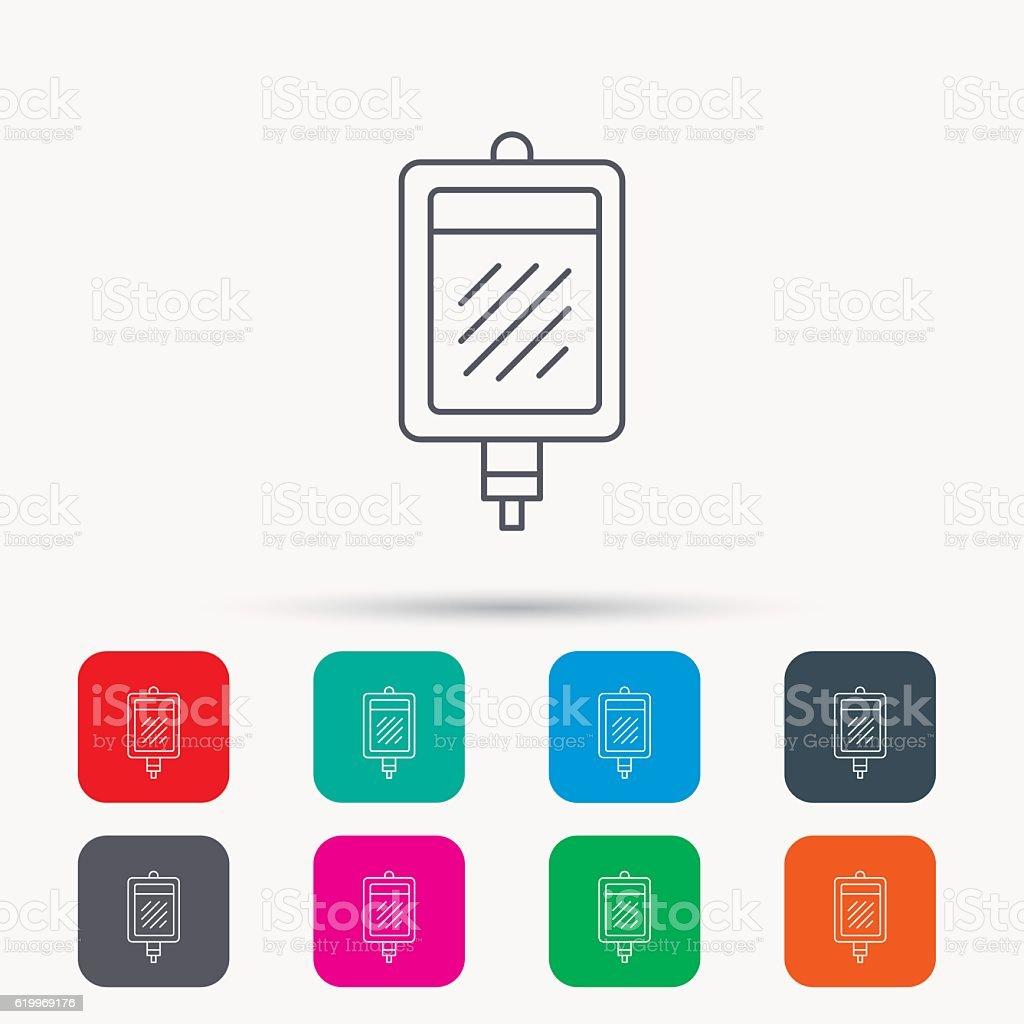 blood donation icon medicine drop counter sign stock vector art
