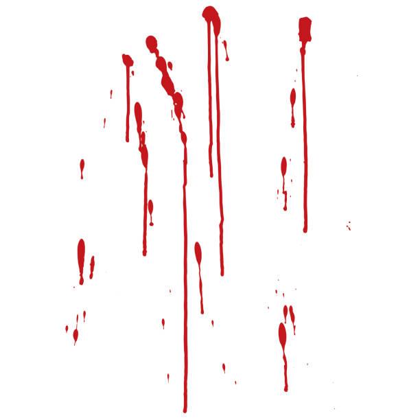 ilustraciones, imágenes clip art, dibujos animados e iconos de stock de goteo de sangre - sangre