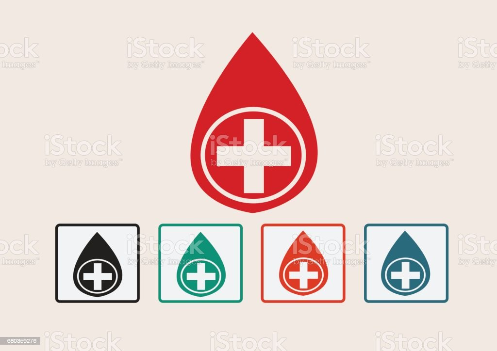 Blood drop icons set royalty-free blood drop icons set stock vector art & more images of abstract