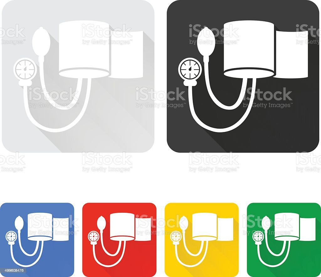 Blood Pressure Cuff vector art illustration
