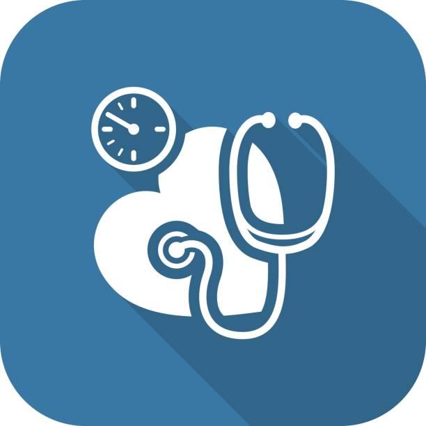 illustrations, cliparts, dessins animés et icônes de artérielle icône. design plat. - aide soignant