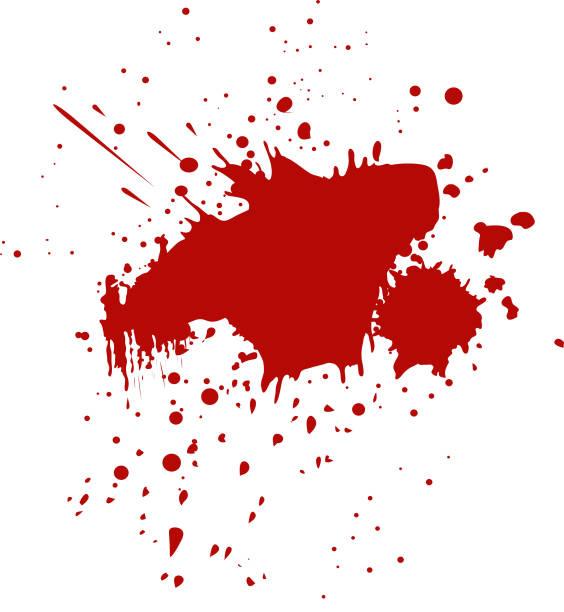 Blood Spilled vector vector art illustration