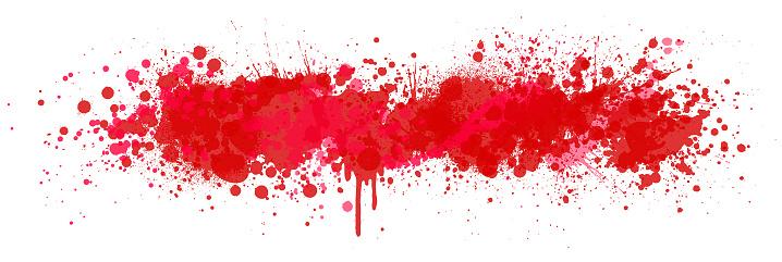 Blood splash background