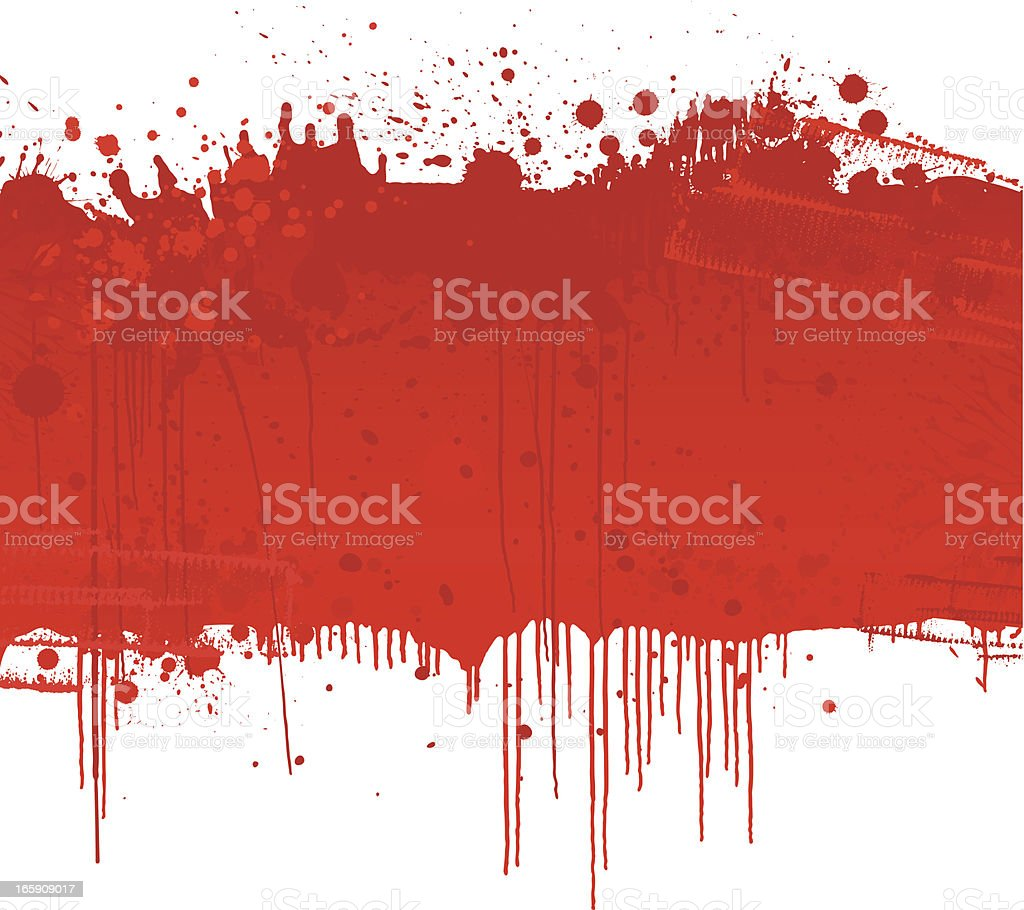 Blood Splatter background royalty-free stock vector art