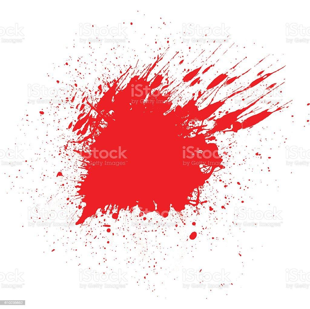Blut Spritz-Hintergrund – Vektorgrafik