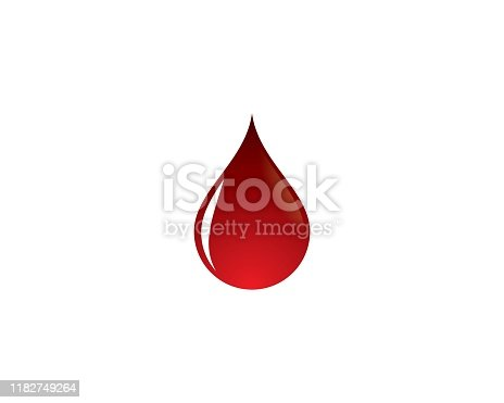 Blood vector icon illustration design