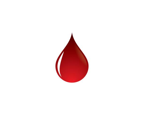 Blood vector icon Blood vector icon illustration design blood stock illustrations