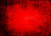 istock Bloody grunge abstract texture background 963342958