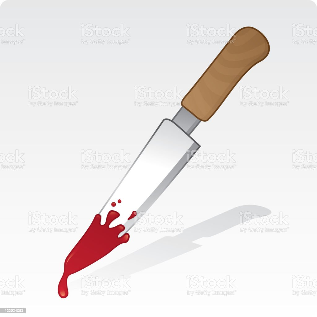 Bloody knife royalty-free bloody knife stock vector art & more images of color image