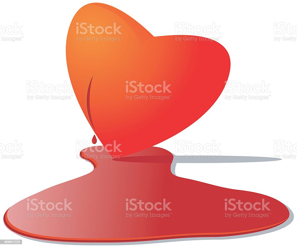 Bloody Valentine vector icons royalty-free stock vector art