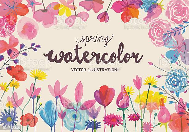 Blooming watercolors vector id504742336?b=1&k=6&m=504742336&s=612x612&h=pevn269i85lh11q8exsmdv5lhmvcbpk3a1ce iowbfy=