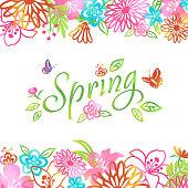 Blossom into spring.
