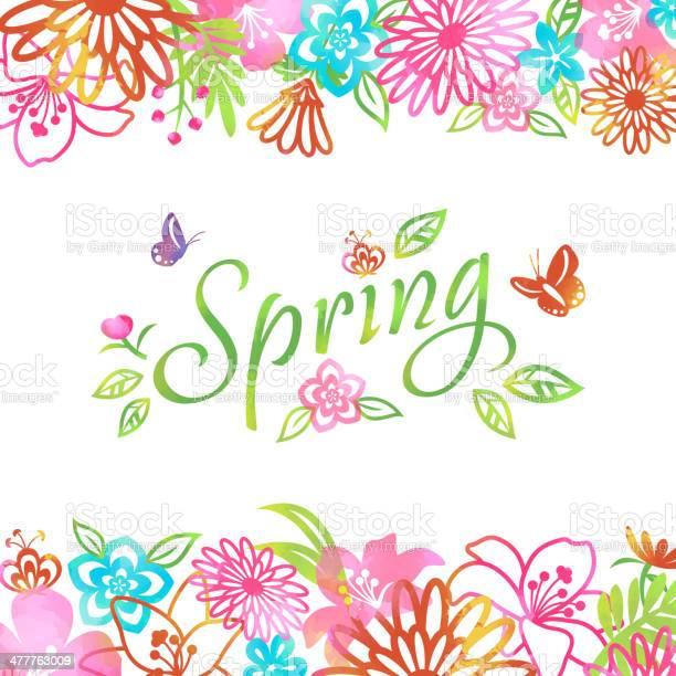 Blossom into spring flowers frame background vector id477763009?b=1&k=6&m=477763009&s=612x612&h=2gjxuuplcar lxuaynqpfh jy5bg y21vp7rfvqxtdk=