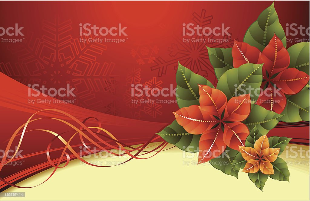 Blossom poinsettia royalty-free blossom poinsettia stock vector art & more images of art and craft
