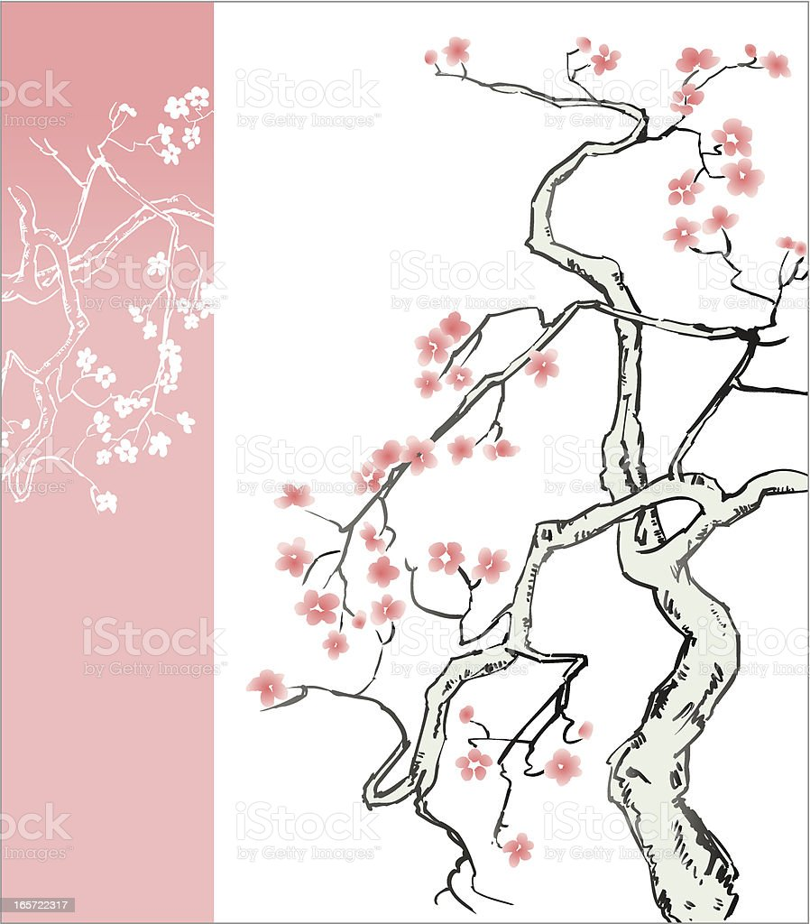 Blossom Tree royalty-free blossom tree stock vector art & more images of beauty in nature