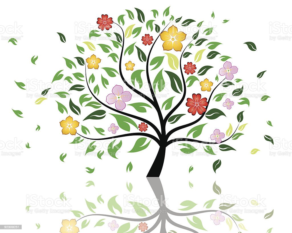blossom tree royalty-free blossom tree stock vector art & more images of abstract