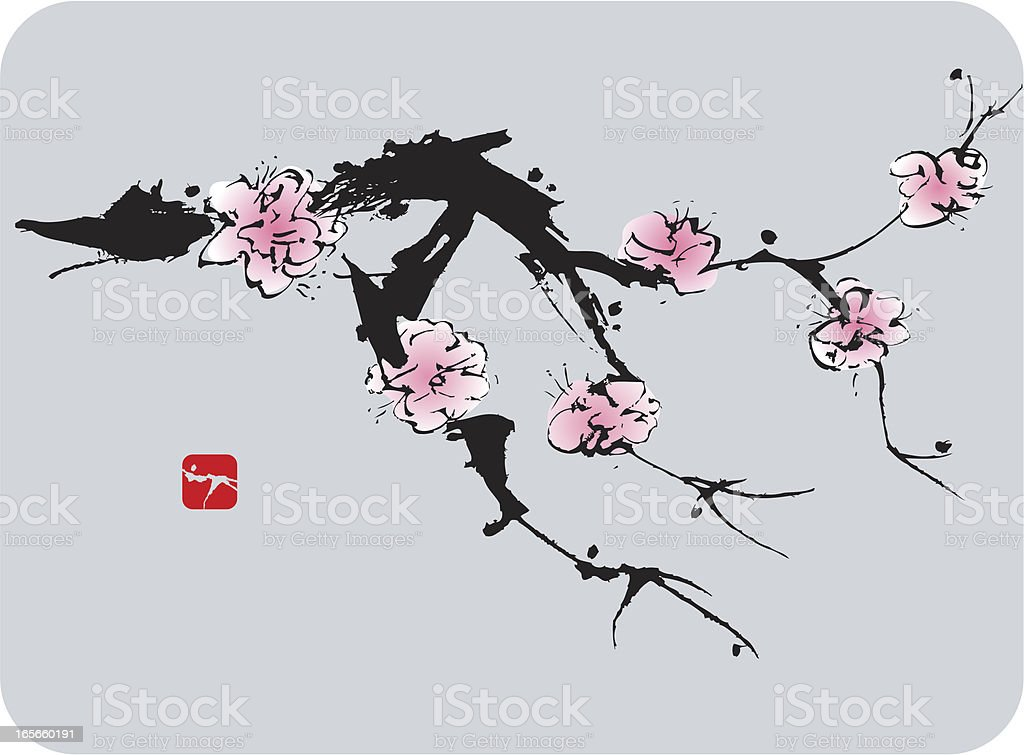 Blossom royalty-free stock vector art