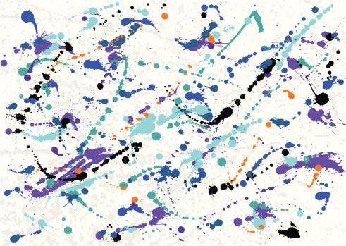 Blots Stock Illustration - Download Image Now