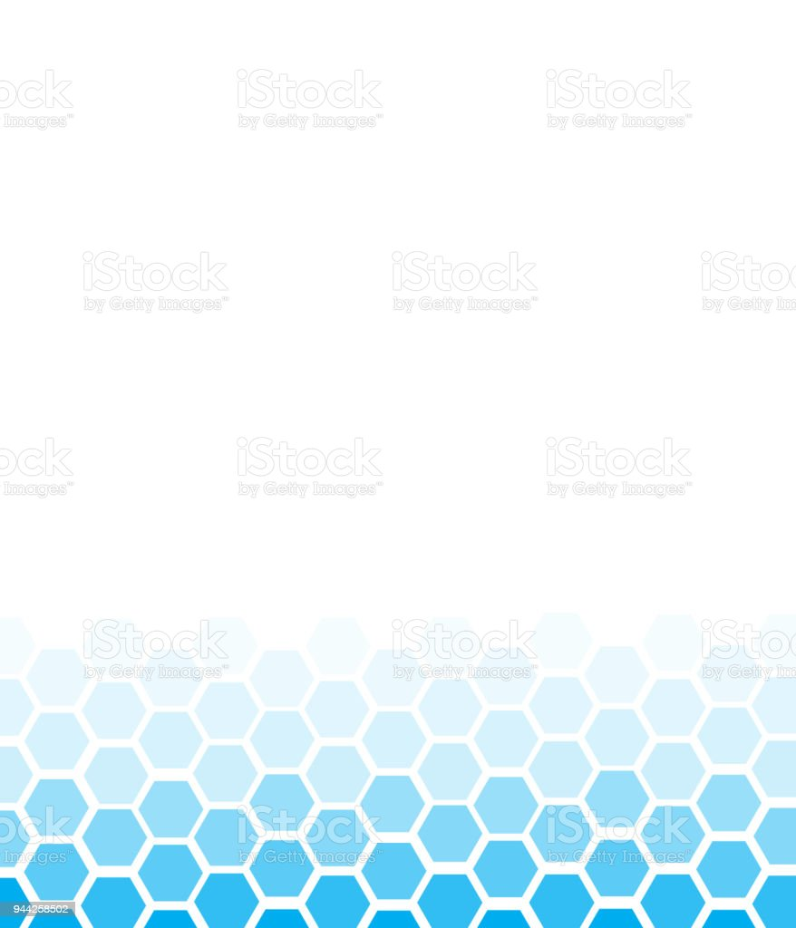Blue Abstract Background Design For Business Vector