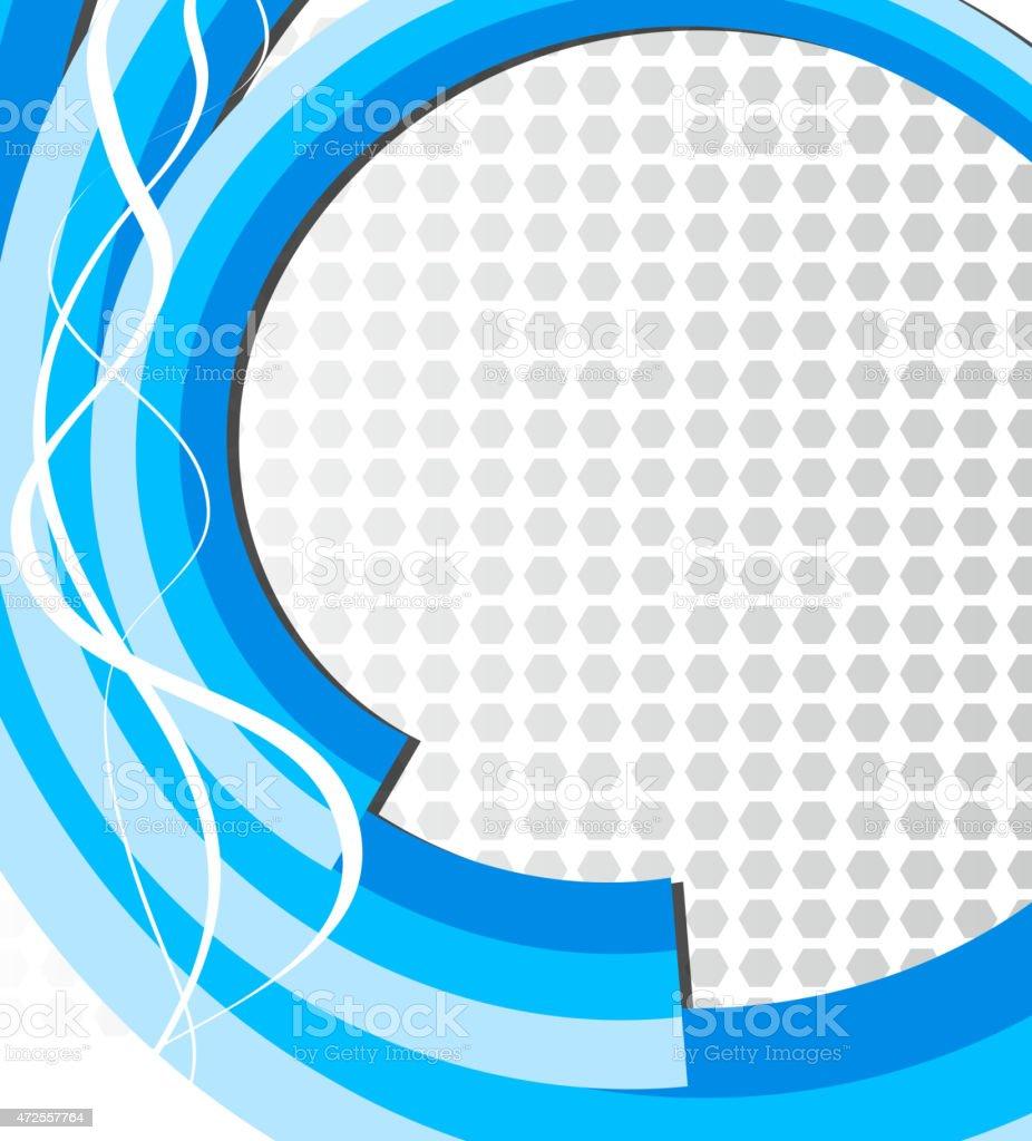 Fondo abstracto azul ilustración de fondo abstracto azul y más banco de imágenes de 2015 libre de derechos