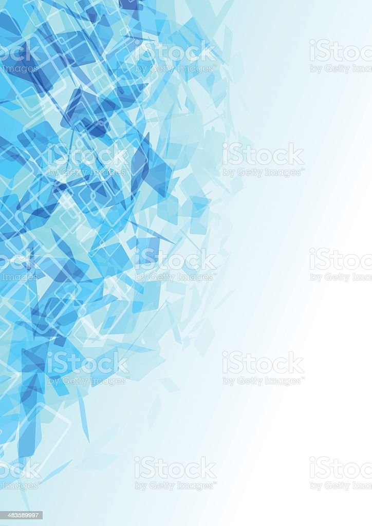 Blue abstract background royalty-free blue abstract background stock vector art & more images of abstract