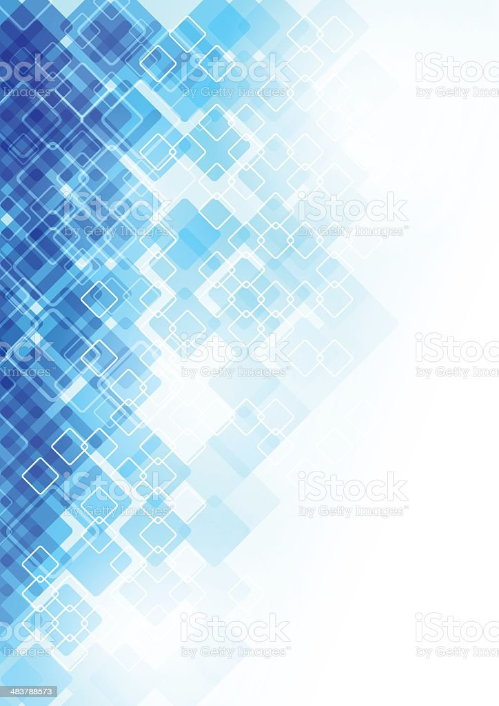 Blue abstract background royalty-free stock vector art
