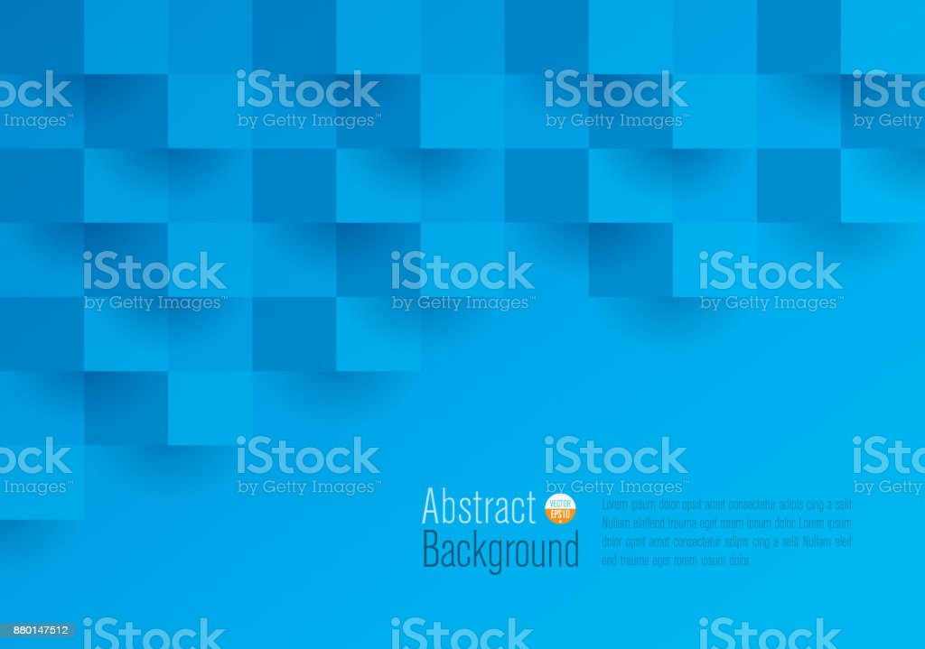 Blue abstract background vector. vector art illustration