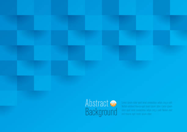 Blue abstract background vector. Website Template, Web Page, Banner - Sign, Internet, Concepts & Topics blue background illustrations stock illustrations