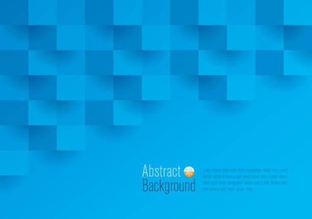 Fundo de vetor abstrato azul. - ilustração de arte em vetor