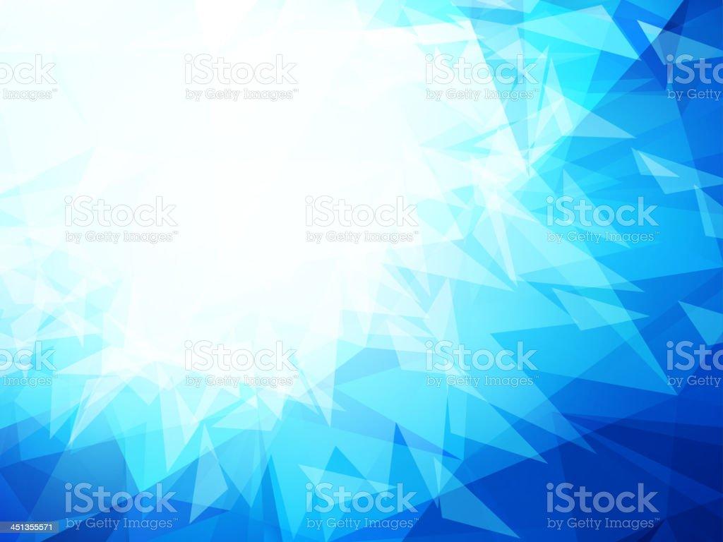 ef59c28053a5f Fondo abstracto azul con Formas geométricas ilustración de fondo abstracto  azul con formas geométricas y más