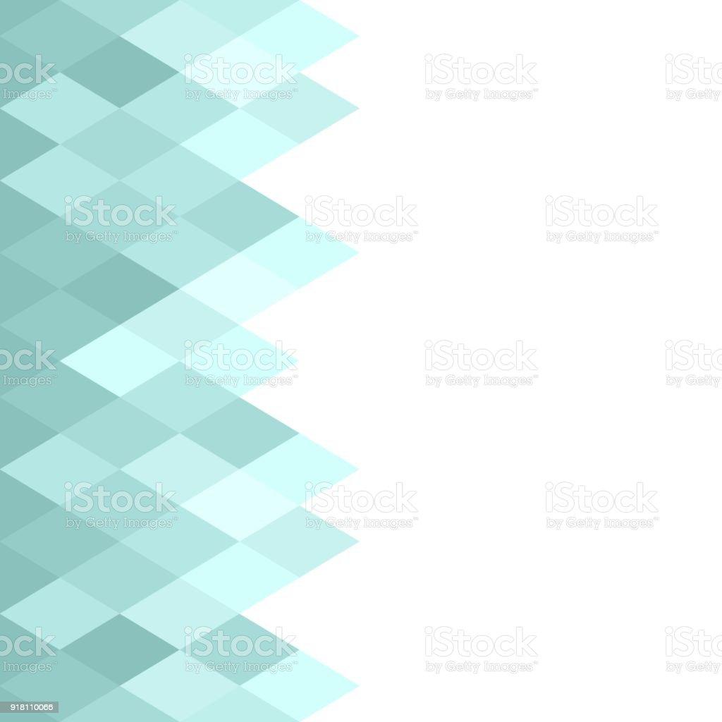 Ilustración De Rombos Geométrico Abstracto Azul Textura Fondo