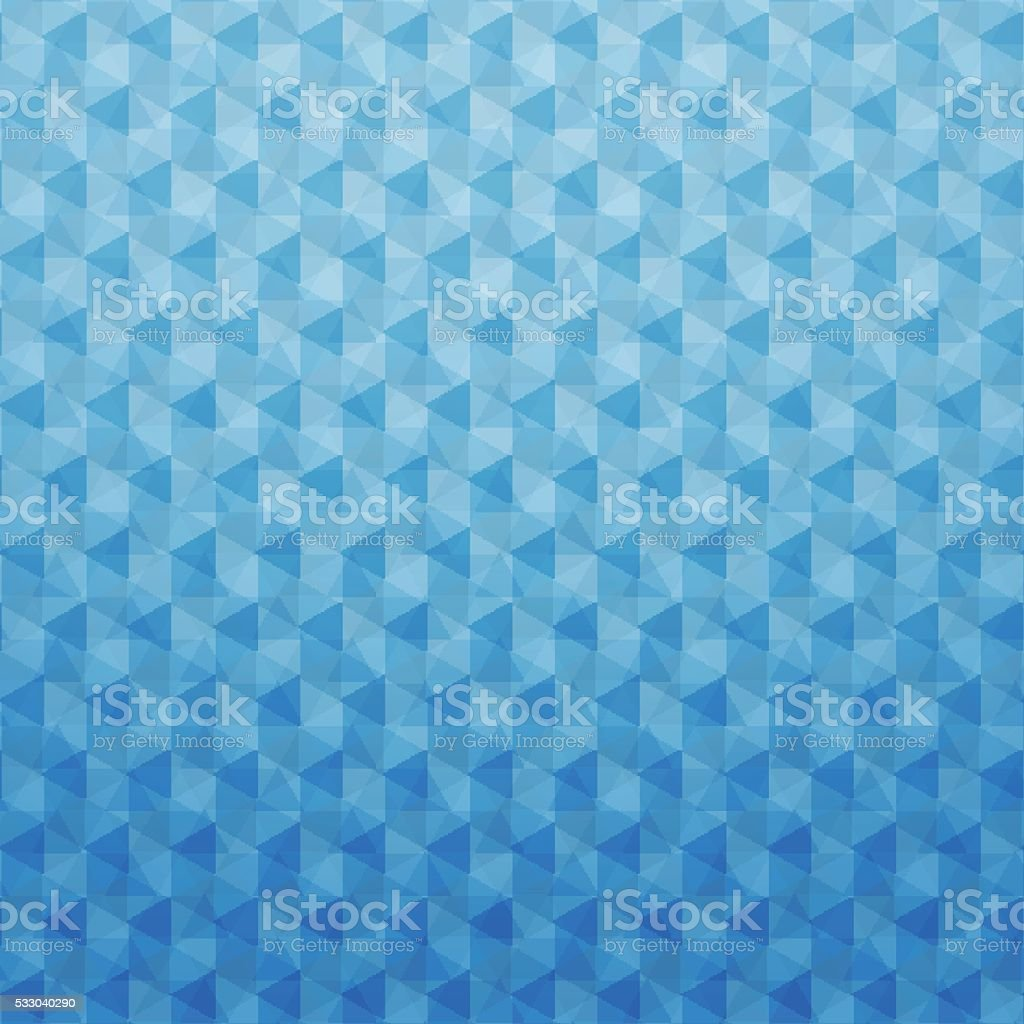 Sfondo Geometrico Astratto Blu Poligonale Immagini Vettoriali