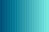 Modern and trendy abstract background with a gradient decomposed into several vertical color lines. This illustration can be used for your design, with space for your text (colors used: Green, Turquoise, Blue). Vector Illustration (EPS10, well layered and grouped), wide format (3:2). Easy to edit, manipulate, resize or colorize.