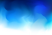istock Blue abstract gradient background 956951288